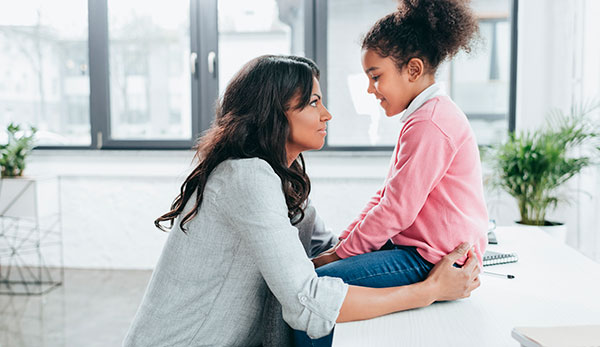 talking to your child about race